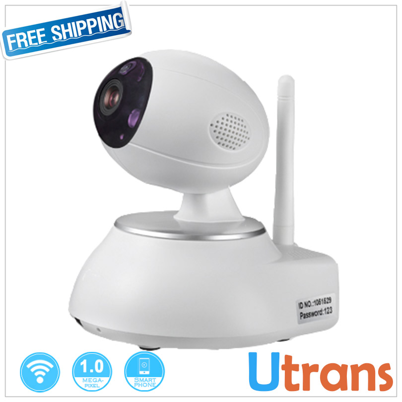 ФОТО IP Wifi Camera HD Household Audio Alarm P2P Pan/tilt 10m Night Vision 1.0 Megapixel 1280*720P HD Wireless Security IP Camera