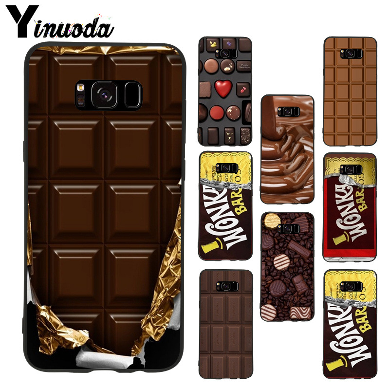 Us 10 33 Offyinuoda Willy Wonka Bar With Golden Ticket Sweet Chocolate Bar Luxury For Samsung Galaxy S8plus S9plus S7 S6 Edge Note8 Case In