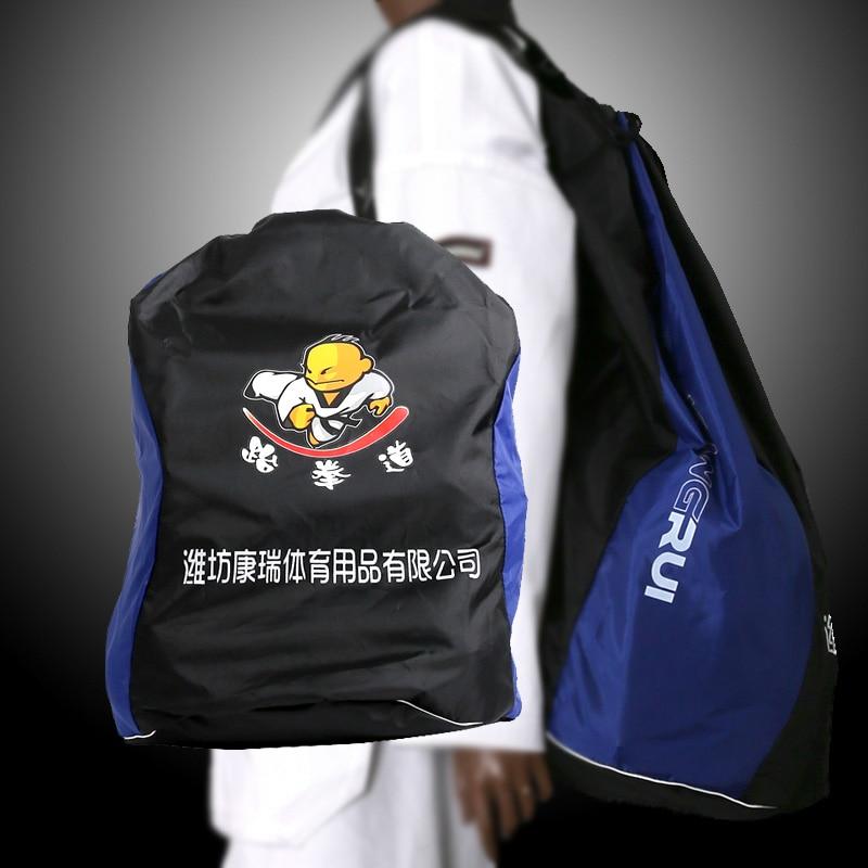 Taekwondo Backpack Bag Taekwondo Handbag Adult Kids Taekwondo Bag Equipment Package Protective Bag Wtf Protector Bag