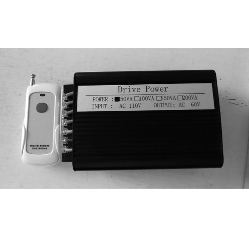 Samrt PDLC Film alimentation + contrôleur 50 w 220 v à 60 v contrôle