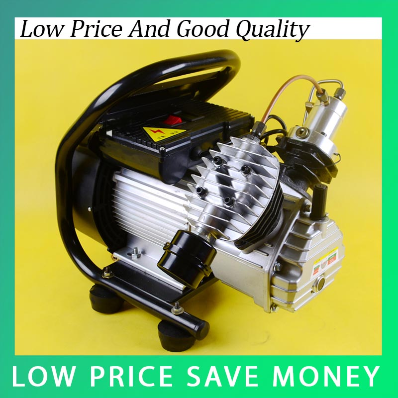 2.2KW Double Cylinder PCP Electric Air Pump High Pressure Paintball Air Compressor