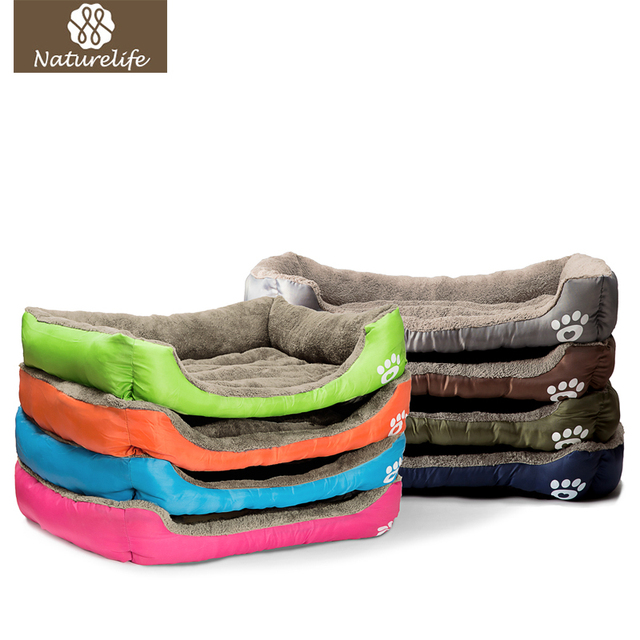 Pet Dog Bed Warming Dog House Soft Material Nest Dog Baskets Fall and Winter Warm Kennel For Cat Puppy Plus size Drop shipping 1