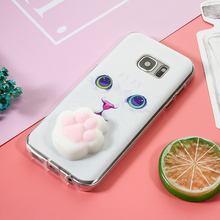 Squishy 3D Silicone Case for Samsung Galaxy S7