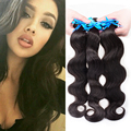 Remy Queen Hair Bundles 9A Peruvian Virgin Human Hair Weft 3 Pieces A Lot 100% Virgin Human Hair Body Wave Hair Extension