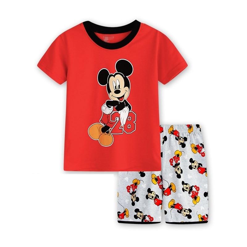c7e4be496 Girls Pajamas Sets Kids Cute Sheep Print Short Sleeve Shirts+pants ...