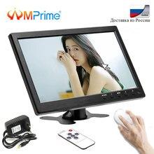 AMPrime 10,1 «автомобильный монитор 1024*600 TFT ЖК-экран монитор 12 Vfor автомобиль задний Камера заднего вида VGA/BNC/AV компьютер дисплей