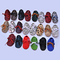 Genuine Leather Baby shoes First Walkers indoor Suede lace-up Horse hair Leather Baby Moccasins Soft bottom newborn Bebe shoes