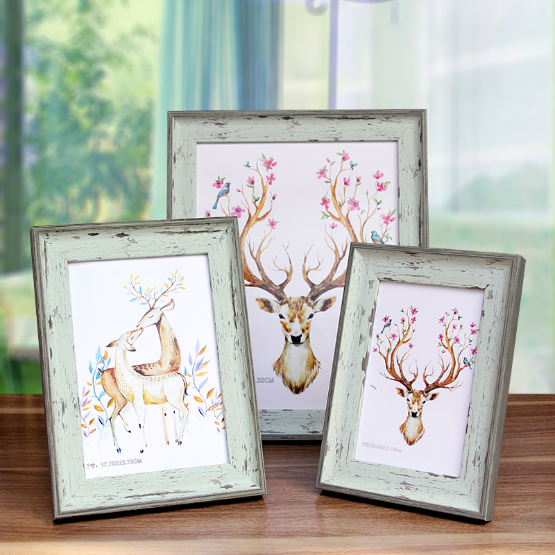 Hot Sale Europe Family Gloden Photo Frame Fashion Birthday