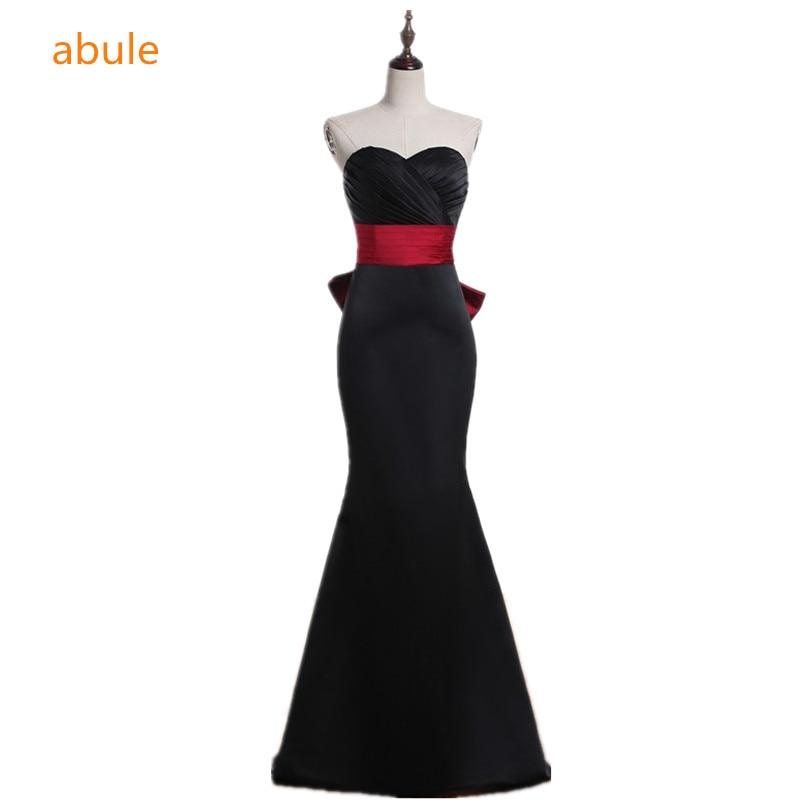 abule Vestido de noche largo Sweetheart little black dresses sirena - Vestidos para ocasiones especiales