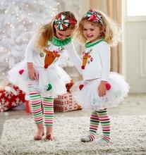 Toddler Baby Kid Girl Clothing Xmas Set Outfits