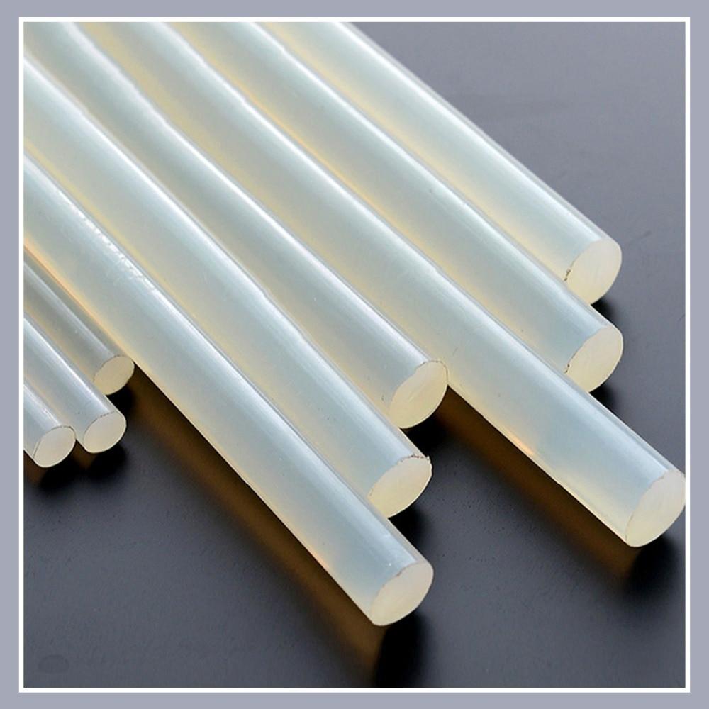 Hot Melt Glue Sticks 7mm/11mm Translucent Strong Viscosity Rods For Glue Gun High Temperature Resistance Hot Glue 10Pcs