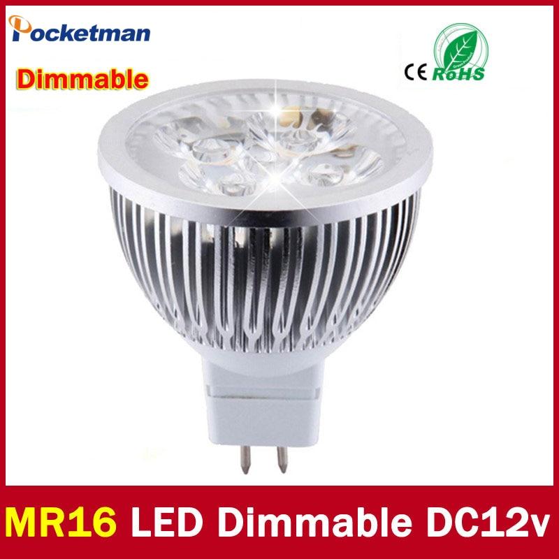 Extremement Lampe spot haute luminosité MR16 GU5.3 LED 12 V 220 V 110 V 3 W 4 OB-23