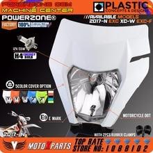 POWERZONE мотоциклетные фары для 18 KTM Headligt EXC XCF SX F SMR эндуро Байк Мотокросс Супермото H4 лампы