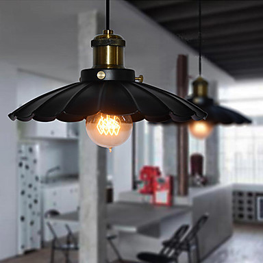 Edison Retro Loft Style Vintage Industrial Pendant Light Lamp ,Minimalist Black Iron Painting loft style vintage pendant lamp iron industrial retro pendant lamps restaurant bar counter hanging chandeliers cafe room