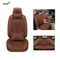 Universal leather linen car seat cover for DS All Models DS3 DS4 DS4S DS5 DS6 car styling auto accessories