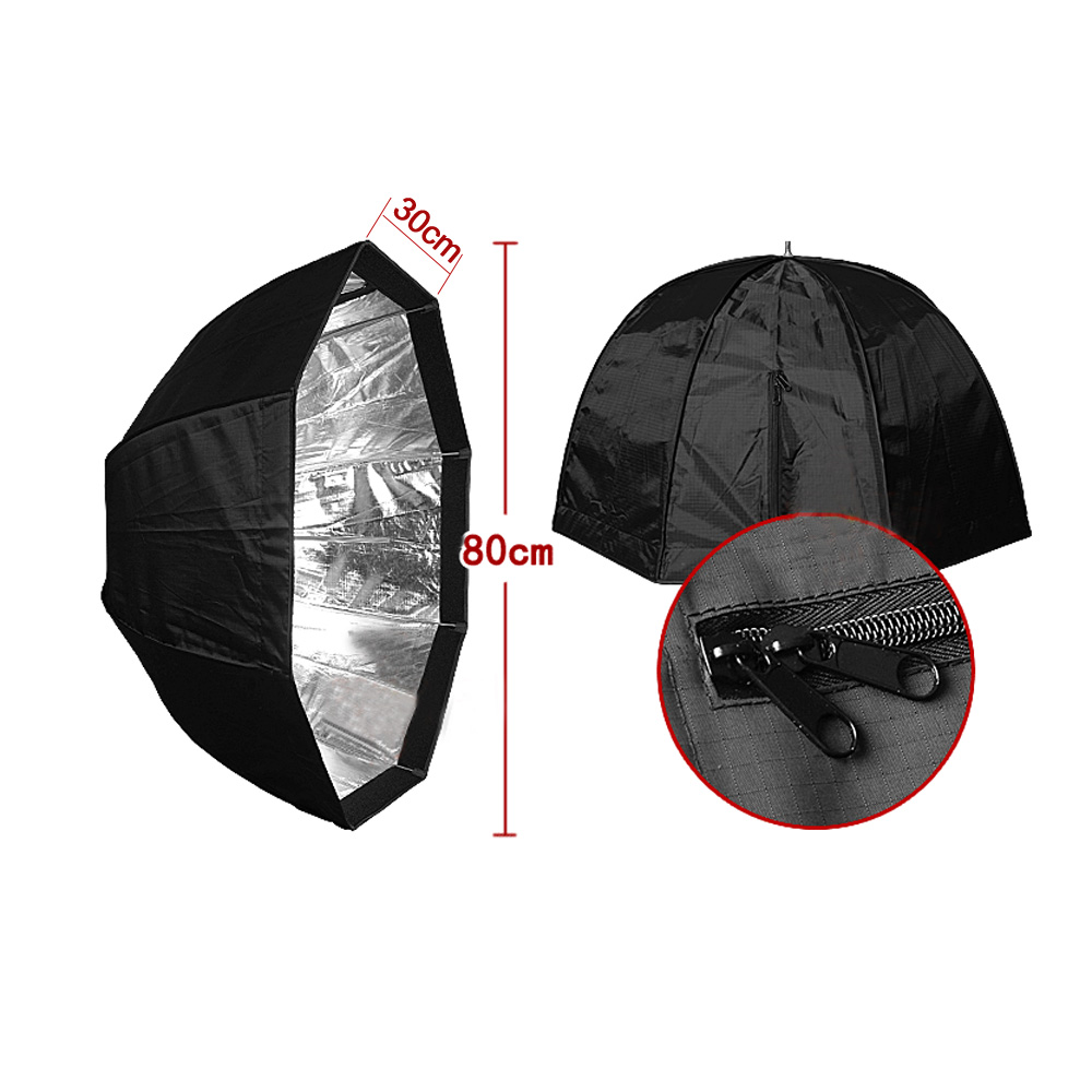 Octagon Umbrella Speedlite Softbox: Aliexpress.com : Buy 80cm/31.5in Octagon Umbrella Softbox