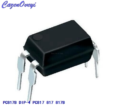 50pcs/lot PC817B DIP-4 PC817 817 817B EL817 FOD817C LTV817A LTV-817-A In Stock