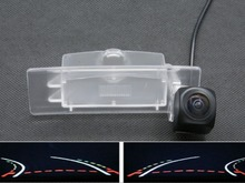 1080P Fisheye Lens Trajectory Tracks Car Parking Rear view Camera For KIA K5 K4 2011 2012 2013 2014 Optima Lotze Reverse