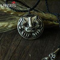 1 шт. CH-287-C Кельт символ Ежик животное кулон ожерелье