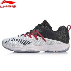 Image 1 - Vợt Cầu Lông Li Ning Nam Rangertd Cầu Lông Tập Luyện Mặc Được Hỗ Trợ Ổn Định Lớp Lót Chống Trơn Trượt Giày Thể Thao Sneakers AYTP015 SAMJ19