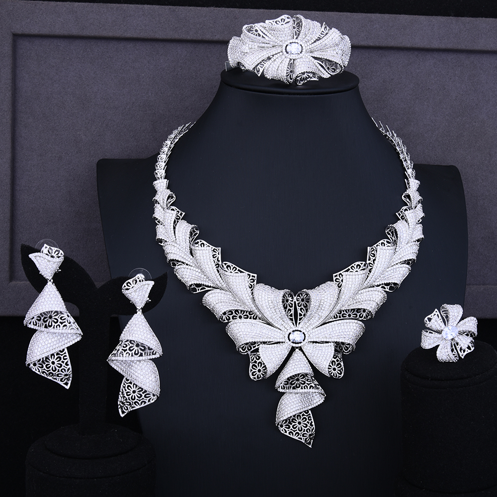 Diamond Rings Sale Dubai: Aliexpress.com : Buy GODKI Luxury Bowknot Dubai Fashion