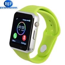 Smart watch t2 a1 para android apoyo whatsapp sim tf podómetro deporte bluetooth pulsar para xiao mi teléfono reloj dz09 gt08 gt88