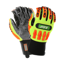 Firm Grip Mechanics Gloves Vibration Resistant Safety Glove Clutch Gear Anti Impact Mechanics Work Gloves hagihara celestial mechanics