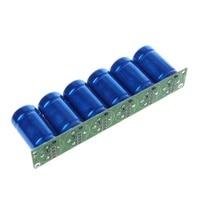 TMOEC Farad Capacitor Module 6Pcs/1Set 500F Blue super Capacitance With Protection Board Automotive Capacitors Electronic Supply