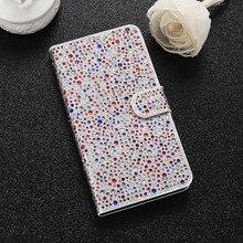 Kisscase для iPhone 7 6 6 S Чехол Блеск Алмазный кожаный флип чехол для Apple iPhone 6/6 S 7 плюс Бумажник Стенд телефон Чехол Коке