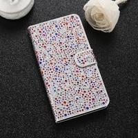 I6 6S Plus Sleeve Full Bling Glitter Diamond Leather Flip Case For Apple IPhone 6 6S