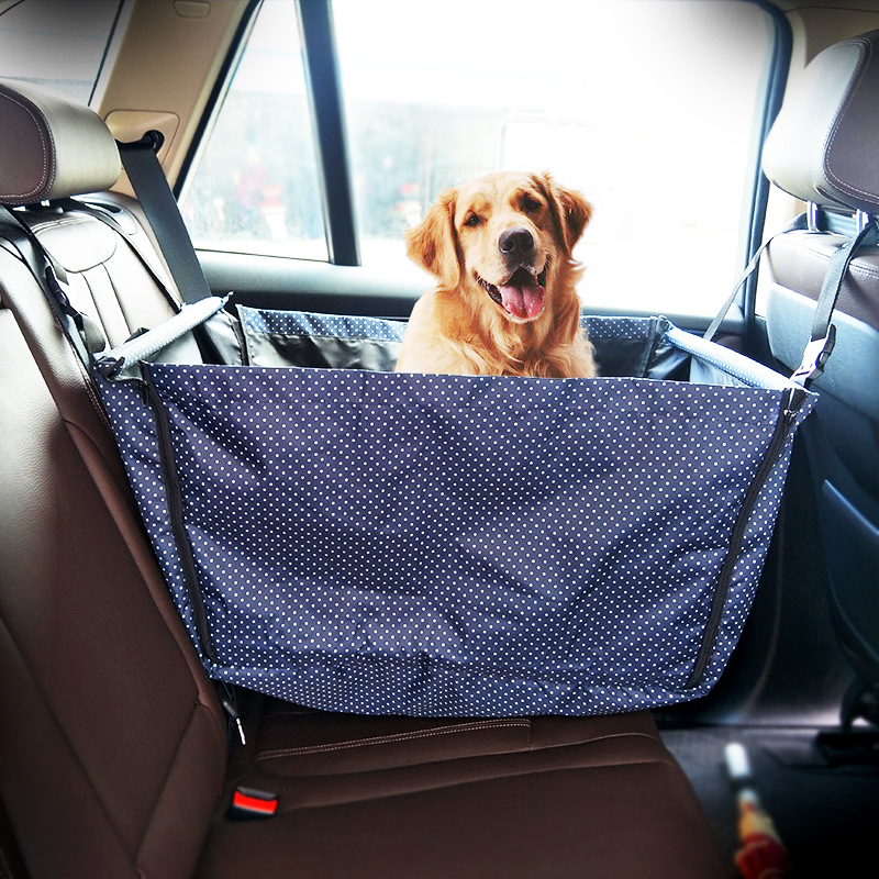 Travel Portable Foldable Car Hammock Carrier Basket ...