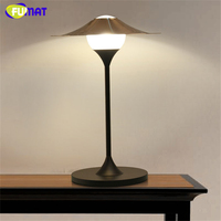 Фумат indoor Освещение металлическая настольная лампа творческий соломенная шляпа Abajur огни современный Настольные лампы с g9 светодиодные лам