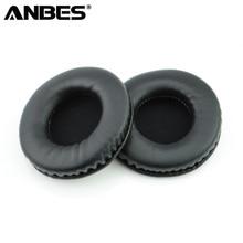 Anbes 80 мм Замена амбушюры подушки мягкой поролоновой губки прочные подушечки Чехлы для мангала для наушники гарнитуры