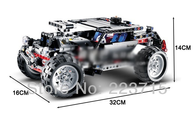 *Hummer SUV* DIY enlighten block bricks,Compatible With other Assembles Particles