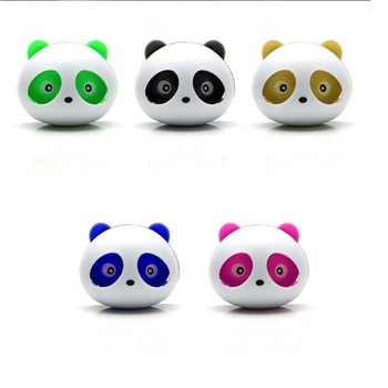 2 Pieces Cute Panda Car Air Freshener Perfumes 100 Original Auto Flavoring for Air Vent Decoration Car Smell Flavors Accessories image