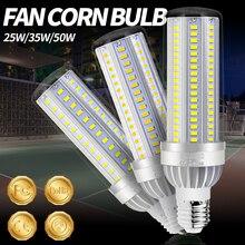 LED E27 Corn Bulb 50W Light LED Lamp 110V 220V LED Bulb E26 High Power Lampada For Playground Square Warehouse Outdoor Lighting