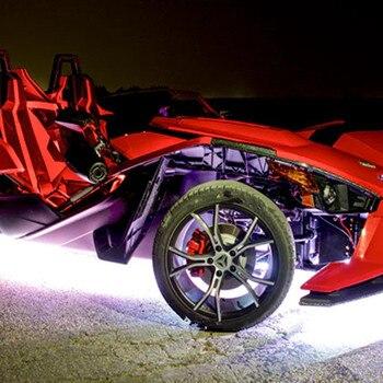 Telaio Del Motociclo RGB Scolorimento Variabile Atmosfera Di Colore Luci A LED Per Interni Auto Lampada Auto Moto Accessori Di Arredamento