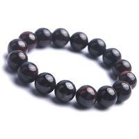 Free Shipping Genuine Natural Purple Sugilite Round Loose Stone Beads Women Lady Jewelry Stretch Bracelet 13mm