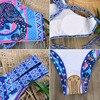 High Neck Tank Crop Top Bikini 1