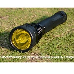 Image 4 - Xenon Torch 85W Flashlight Strong Light Lantern Searchlight 8000 Lumen Rechargeable Spotlight For Hunting Xenon Flashlights