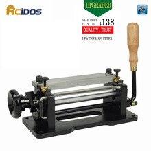 ER806 6 дюймовый ручной кожаный скивер, инструменты для чистки кожи, DIY лопата, разделитель кожи, пластиковый нож, резак