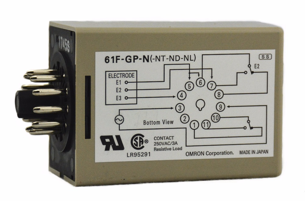 цена на 61F-GP-N AC110V 3.5A 50/60Hz OMRON relay electronic component Solid State Relays Water level controller