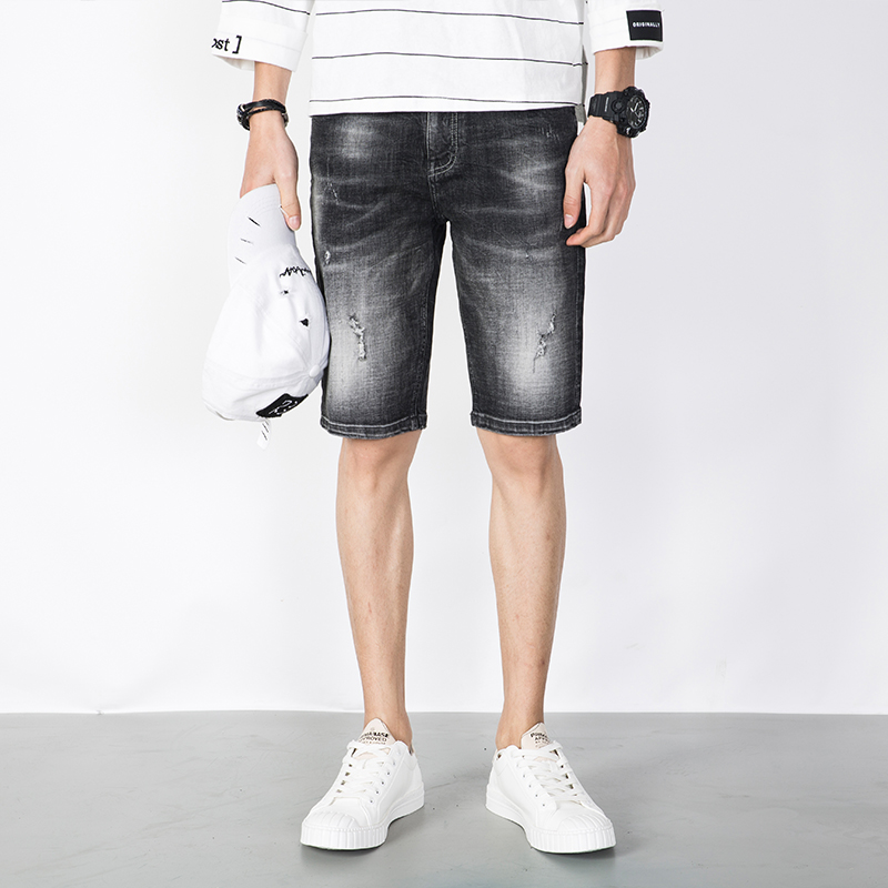 Popular White Denim Shorts Men-Buy Cheap White Denim Shorts Men ...