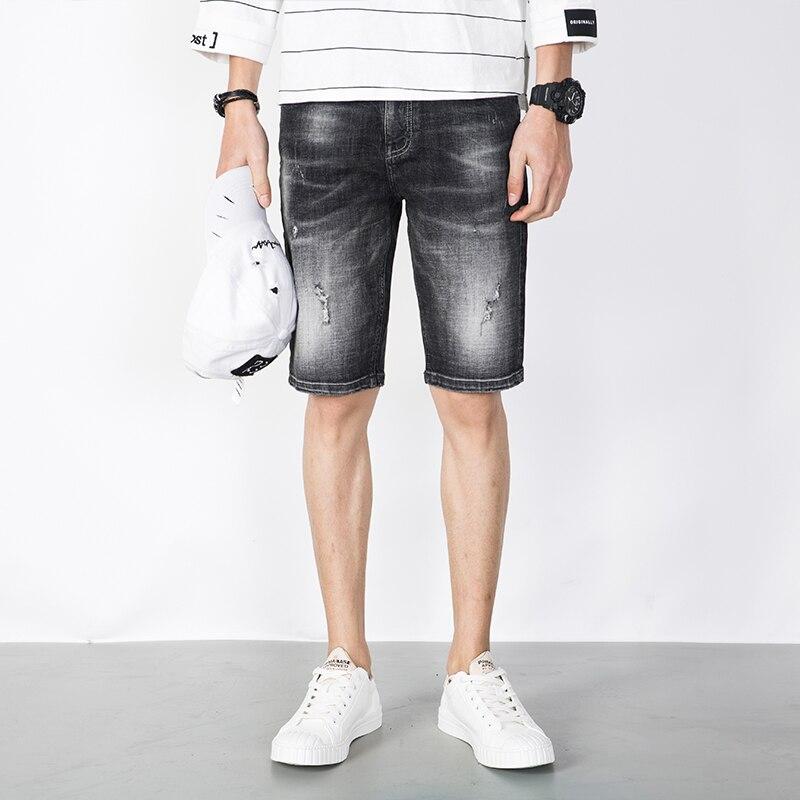 Popular White Jeans Shorts Men-Buy Cheap White Jeans Shorts Men ...