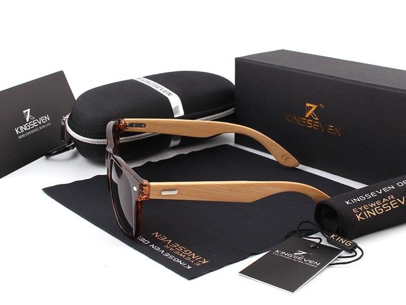 2016 New Bamboo Polarized Sunglasses Men Wooden Sun glasses Women Brand Designer Original Wood Glasses Oculos de sol masculino 15