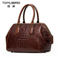 2016 New luxury handbags women bags designer alligator grain quality genuine leather women handbags shoulder bag