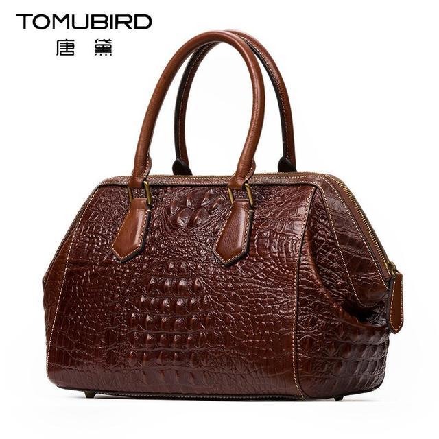 2017 New Luxury Handbags Women Bags Designer Alligator Grain Quality Genuine Leather Shoulder Bag