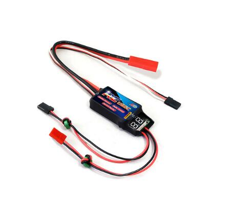 Dual R/C Adjustable Current Display UBEC 5A/5V & 5A/5V 7.4V Electronic Speed Controller for RC Plane Quadcopter