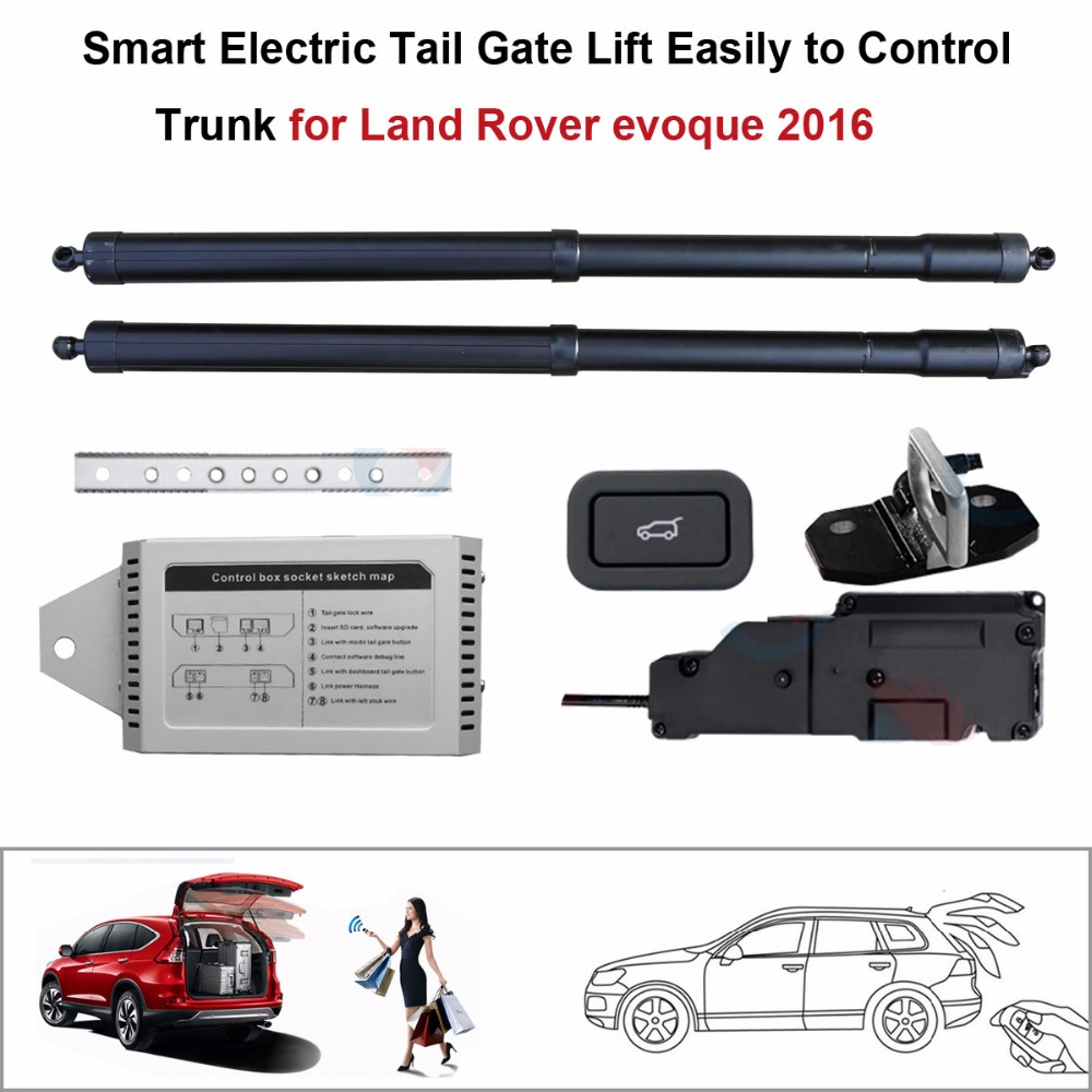 Smart Auto Electric Tail Gate Lift For Land Rover Evoque 2016 Control Set Height Avoid Pinch With Latch