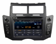 Quad-core HD 2 din 6.2″ Android 5.1 Car DVD Player for Toyota Yaris 2005-2011 With GPS 3G/WIFI PC Bluetooth Radio TV AUX IN USB